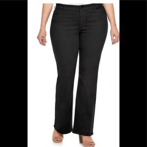 Jennifer Lopez woman's black jeans size 22S